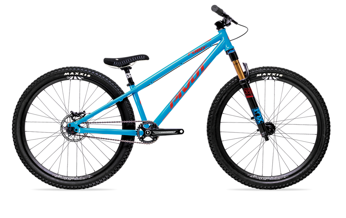 pivot point dirt jump bike