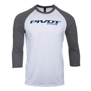 Picture of Pivot Cycles Baseball Tee - Men's