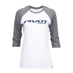 Picture of Pivot Cycles Baseball Tee - Women's