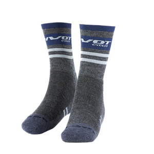Picture of Factory Gray & Navy Socks