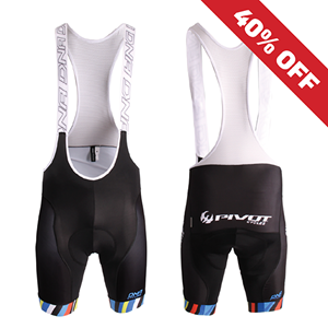 Picture of Pivot Cycles DNA Striped Race Bibs - Unisex *FINAL SALE*