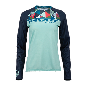 Picture of Peahi Long Sleeve Women's Jersey - Mint