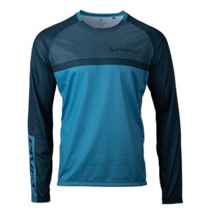 Picture of Helipad Long Sleeve Jersey - Blue