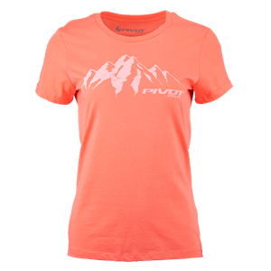 Picture of Pivot Alpine Women's Tee - Coral