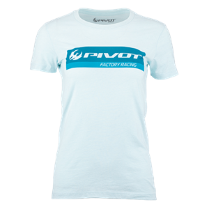 Picture of Pivot Factory Racing Women's Tee - Ice