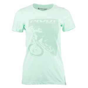 Picture of Pivot Rider Women's Tee - Mint