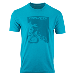 Picture of Pivot Rider Men's Tee - Teal